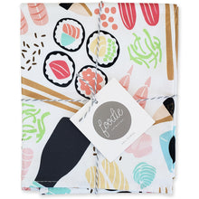 Load image into Gallery viewer, Sushi Tea and Dish Towel - Shop Tiffany Wong Design