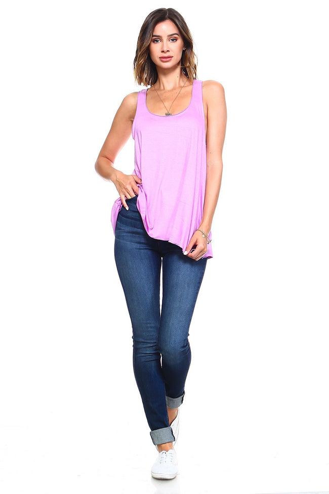 Orchid Flowy Tank Top - Simplicitie - 2