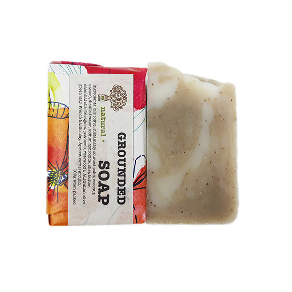 Grounded Soap Patchouli The green Bottle Soap