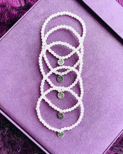 Self-Love Rose Quartz Stretchy Bracelets