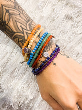 Load image into Gallery viewer, Chakra Balancing Stretchy Gemstone Bracelet Set