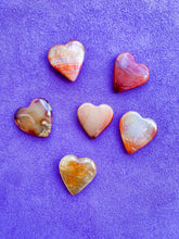 Load image into Gallery viewer, Carnelian Hearts