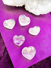 Load image into Gallery viewer, Clear Quartz Hearts