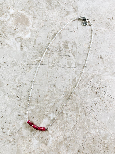 Rubies of Joy Necklace