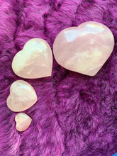 Load image into Gallery viewer, Rose Quartz Hearts