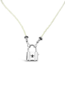 Cali Padlock Signature Necklace