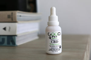 500MG Guud Pet CBD Tincture - For Large Pets