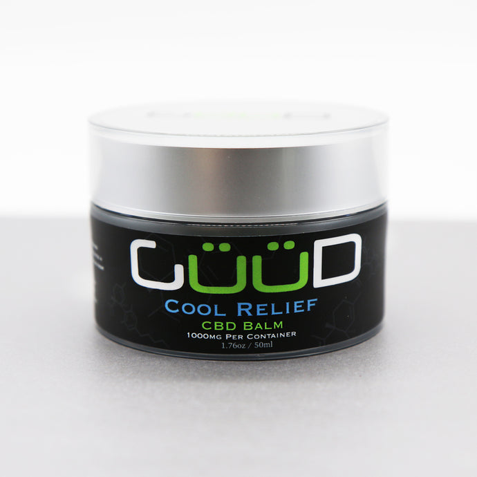 1000MG Cool Relief CBD Hemp Infused Balm