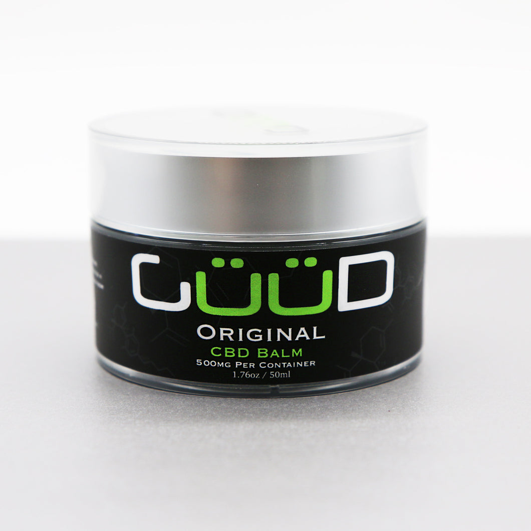 500MG Original CBD Hemp Infused Balm