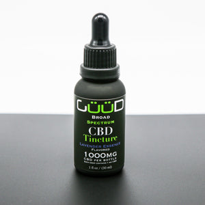 1000MG Lavender Essence Broad Spectrum CBD Hemp Oil