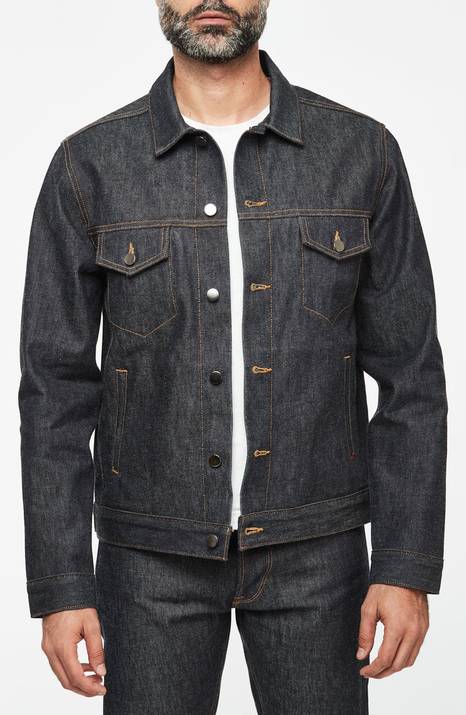 Luke Mother Trucker Jacket, New American Selvedge Raw