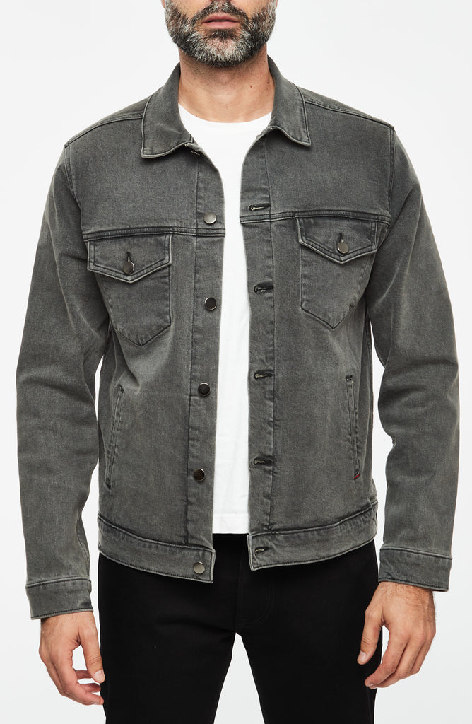 Luke Mother Trucker Jacket, Steel Wash