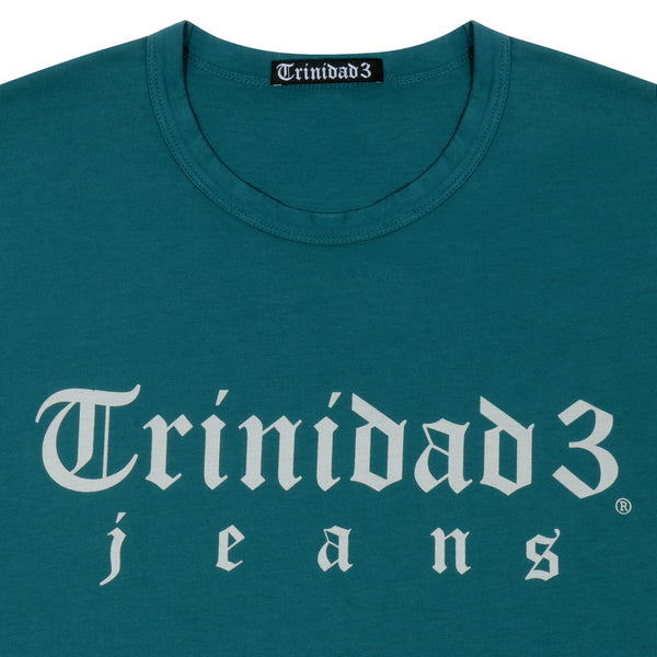 Trinidad3 Jeans Pima Cotton T-Shirt Ocean Green