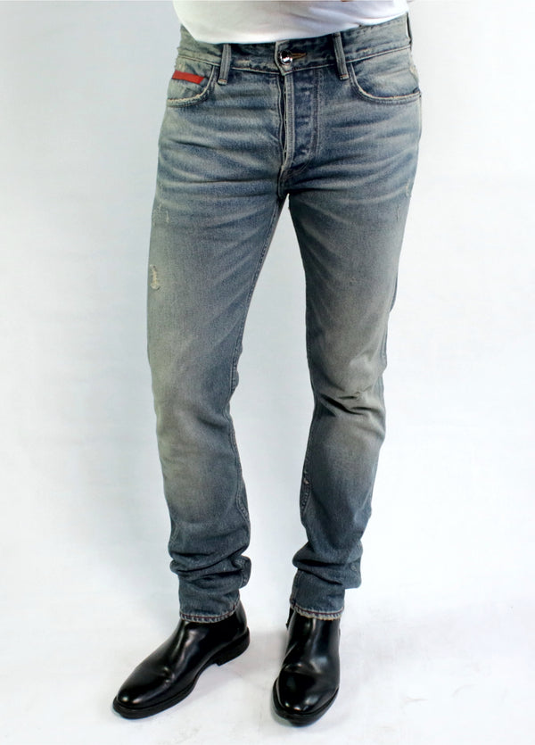 the BRINE slim taper- J.A. Dark wash
