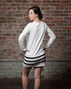 Vivilish Long Sleeve Fleece Dress