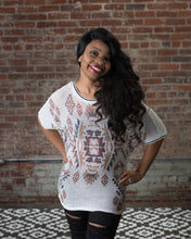 Load image into Gallery viewer, Vocal Aztec Print Sweater W/ Sequins