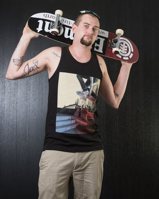 Shaka Wear Skateboarding Graphic Tank