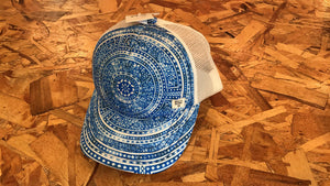 Billabong Blue Printed SnapBack