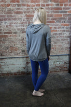 Load image into Gallery viewer, Blue Fame Legging Patterned Royal Blue
