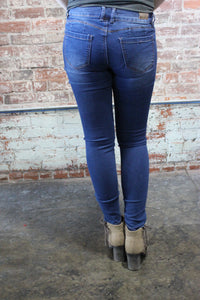 Denim Couture Classic Skinny Jeans Medium Wash