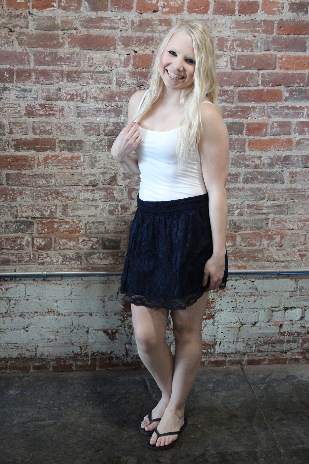 Zenana Lace Skirt