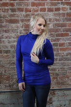 Load image into Gallery viewer, Zenana Turtle Neck Long Sleeve Royal Blue
