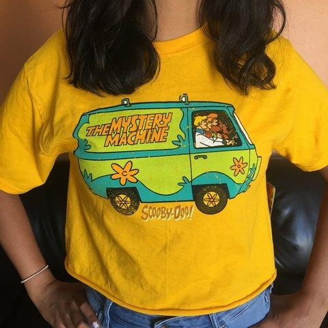 Scooby Doo Mystery Crop Top