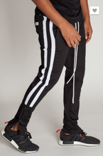Load image into Gallery viewer, Kayden K Athletic Snap Joggers (2 Colors)