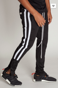 Kayden K Athletic Snap Joggers (2 Colors)