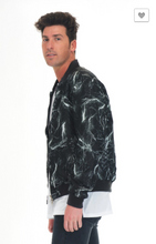 Load image into Gallery viewer, WEIV.LA Thunder Lightning Windbreaker Bomber Jacket