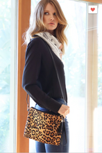 Load image into Gallery viewer, L.I.B. New York Animal Print Crossbody