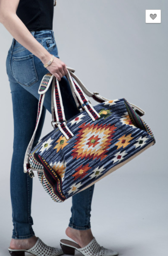 Ruggine Bohemian Tribal Duffel Bag