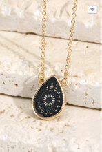 Load image into Gallery viewer, ITS Teardrop Pendant Necklace W/ Gold Stud's (2 Colors)