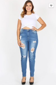 BBA High Waisted Skinny Jeans