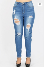 Load image into Gallery viewer, BBA High Waisted Skinny Jeans
