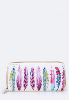 Bijorca Boho Feather Wallet