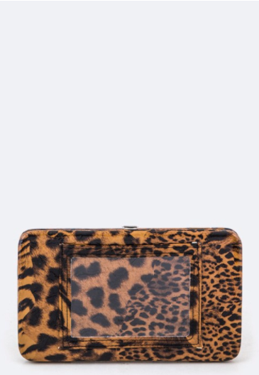 Cheetah/Zebra Print Wallet (2 Colors)
