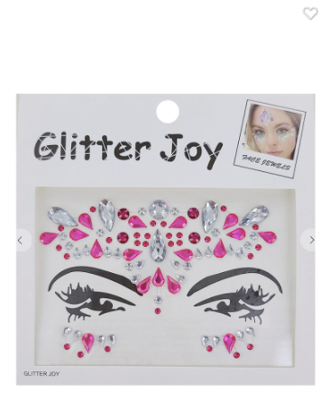 Glitter Joy Assorted Face Gems
