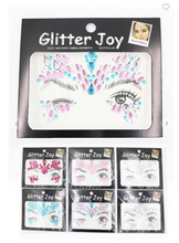 Load image into Gallery viewer, Glitter Joy Assorted Face Gems