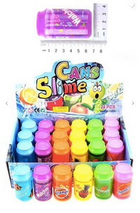 "Kids Cans of Slime (Available in 6 Different ""Flavors"")"