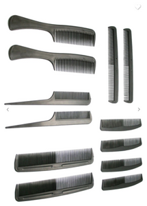 AODE 12 Piece Comb Set