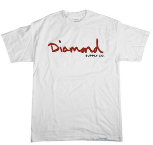 Diamond Supply OG Script Tee