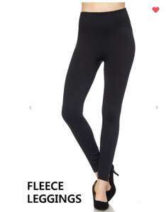 New Mix Premium Fleece Legging Black