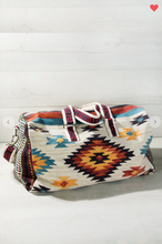 Load image into Gallery viewer, Urbanista Ethnic Navajo Pattern Duffel Bag