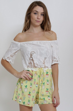 Load image into Gallery viewer, Cals Lace Cactus Romper (2 Colors)