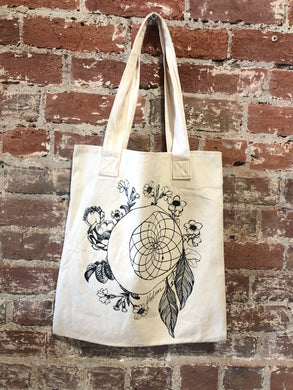 Volcom Dream Catcher Cream Tote