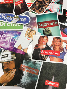 Supreme Sticker Single Assorted
