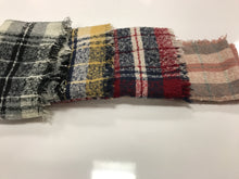 Load image into Gallery viewer, Plaid Infinity Scarves (4 Different Colors!)