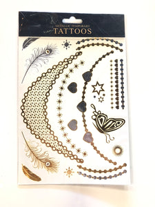 Metallic Temporary Tattoo