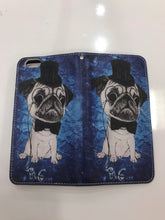 Load image into Gallery viewer, Classy Pug iPhone Wallet